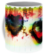 Multi Colored Hearts Coffee Mug