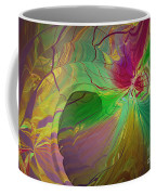 Multi Colored Rainbow Coffee Mug by Deborah Benoit