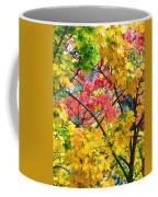 Multicolored Maple Coffee Mug