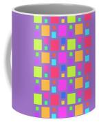 Multicoloured Squares Coffee Mug