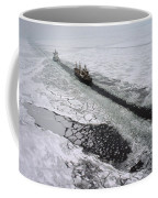 Multinational Fleet Of Icebreakers Coffee Mug by Cotton Coulson