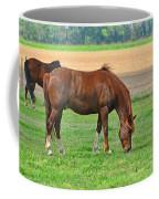 Munching Sweet Spring Grass I Coffee Mug