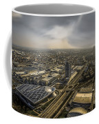 Munich From Above - Vintage Part Coffee Mug