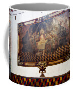 Mural At San Xavier Mission  Coffee Mug