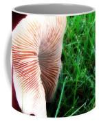 Mushroom And Dewdrops Coffee Mug