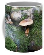 Mushroom In Moss Coffee Mug