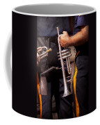 Music - Trumpet - Police Marching Band  Coffee Mug by Mike Savad