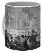 Music Festival, 1881 Coffee Mug