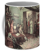 Musical Evening Ad, C1890 Coffee Mug