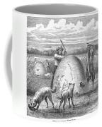 Muskrat Hunting, 1873 Coffee Mug