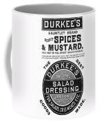 Mustard Ad, 1889 Coffee Mug