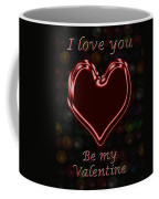 My Heart Is Yours Valentine Card Coffee Mug