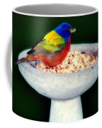 My Painted Bunting Coffee Mug