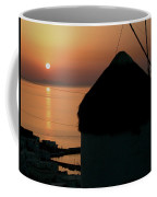 Mykonos Island Sunset Greece Coffee Mug