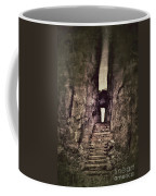 Mysterious Stairway Into A Canyon Coffee Mug