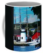 Mystic Seaport Ct Coffee Mug