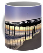 Nags Head Fishing Pier At Sunrise - Outer Banks Scenic Photography Coffee Mug