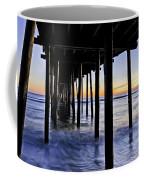Nags Head Pier - A Different View Coffee Mug by Rob Travis