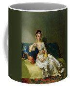 Nancy Parsons In Turkish Dress Coffee Mug