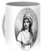 Nancy Storace (1765-1817) Coffee Mug