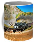 Narrow Gauge Colors In Silverton Coffee Mug
