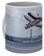 Nasa Enterprise Space Shuttle Coffee Mug by Susan Candelario
