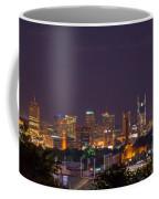 Nashville Cityscape 9 Coffee Mug
