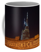 Nashville Downtown Night Scene Coffee Mug