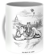 Nast: Blaine Cartoon, 1884 Coffee Mug