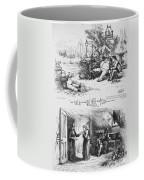 Nast: Tweed Ring Cartoon Coffee Mug