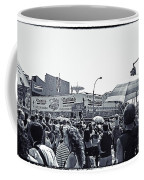 Nathan's Crowd In Coney Island 1 Coffee Mug
