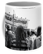 Nathan's Crowd In Coney Island 2 Coffee Mug