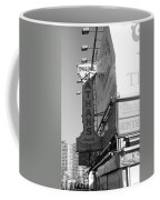Nathan's Famous At Coney Island In Black And White Coffee Mug