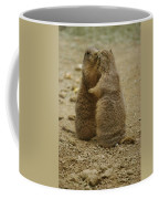 National Zoo 2 Prarie Dogs Sitting Coffee Mug
