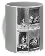 Native American Courtship Coffee Mug