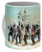 Native American Indian Snow-shoe Dance Coffee Mug