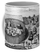 Native American Village Coffee Mug