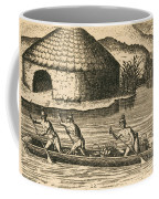 Native Americans Transporting Crops Coffee Mug