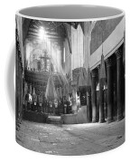 Nativity Pillars Coffee Mug