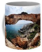 Natural Bridge - Cape Gkreko - Cyprus Coffee Mug