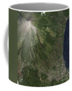 Natural-color Image Of The Mayon Coffee Mug