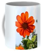 Floral Silhouette Coffee Mug