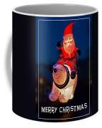 Nature Center Santa Card Coffee Mug