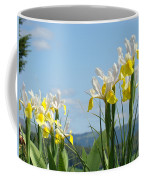 Nature Photography Irises Art Prints Coffee Mug