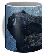 nature Protecter Santorini Island Coffee Mug