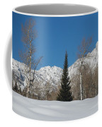 Nature's Christmas Tree Coffee Mug