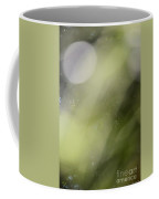 Nature's Green Abstract Coffee Mug