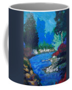 Natures Red White And Blue Coffee Mug