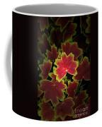 Nature's Still Life Of Heuchera Coffee Mug