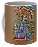 Navajo Trading Post Teepee Coffee Mug